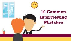 INFOGRAPHIC: 10 Common Interviewing MistakeS from The McQuaig Psychometric System from The Holst Group