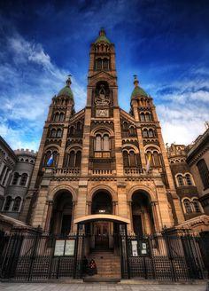 Basílica del Santísimo Sacramento, Buenos Aires, Argentina por Manuel Savariz Santos