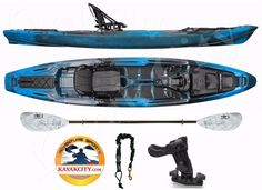 Wilderness Systems ATAK 140 - Kayak City Paddle Package - Midnight #WildernessSystems