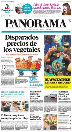 #Portadas #PrimeraPagina #Titulares #Noticias #DesayunoInformativo @diariopanorama