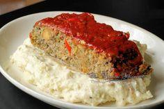 Ultimate Mushroom Veggie Meatloaf #MeatlessMonday