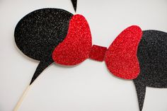 Disney Inspired Photo Booth Props Wedding by MilkTeaMochiDesigns