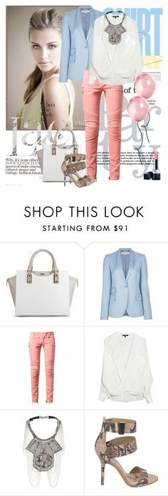 """""""Untitled #2146"""" by ladydelicat ❤ liked on Polyvore featuring BOSS Black, STELLA McCARTNEY, Balmain, Fiona Paxton, Sam Edelman and Christian Dior"""