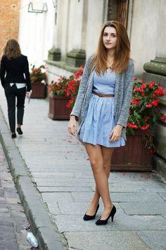lucie jones en robe | Barwne Stylizacje - #tan #pantyhose #blogger #legs #heels #stiletto