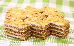 Ruski medovik Krispie Treats, Rice Krispies, Deserts, Bread, Chocolate, Ethnic Recipes, Sweet, Food, Bakken