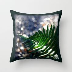 Dancing with light Throw Pillow by Annie Japaud   - $20.00