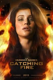 Catching fire her hair is Gorgeous