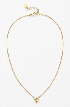 JULES SMITH 'Baby Shark' Charm Necklace available at #Nordstrom