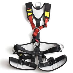 Xinda Full Body Safety Rock Mountain Climbing Rappelling Harness Tree Arborist Seat Belt Strap  Worldwide delivery. Original best quality product for 70% of it's real price. Buying this product is extra profitable, because we have good production source. 1 day products dispatch from...