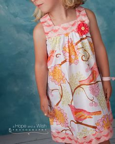 Downloadable PDF sewing patterns for baby, children, girls and boys by Tie Dye Diva