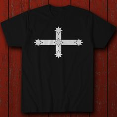 Eureka Stockade Flag - Biker - Aussie Pride - T-Shirt