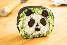 Video recipe how to make the panda sushi roll how to cook sushi rice: http://makesushi.org/cooking-the-rice/ In this video recipe you will see how to make th...