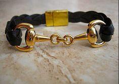 Snaffle bracelet