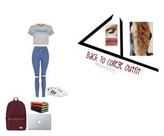 """Back To College Set w/ @kaorussell"" by isabellasmall ❤ liked on Polyvore"