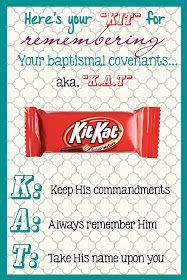 LDS Planners for Mormon Moms: Baptismal Covenants - KITKAT