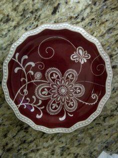 Aunt Chris' Plate
