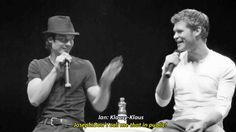 tvd, ian somerhalder and joseph morgan gif