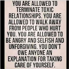 ~ You are allowed