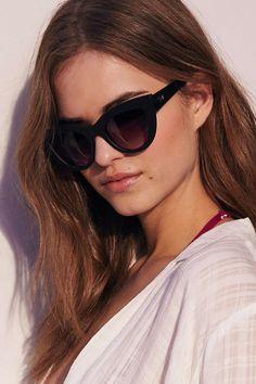 b0a9c45c61f Quay Kittie Cat-Eye Sunglasses