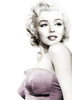 Marilyn Monroe. – http://thepinuppodcast.com  re-pinned this because we are trying to make the pinup community a little bit better.