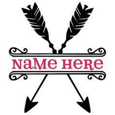 Silhouette Design Store: split archery title