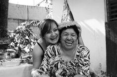 Grandma & Granddaughter photo. Love.