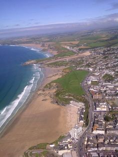 Newquay Beaches - Tolcarne , Lusty Glaze, Porth , Whipsiderry , Watergate and a little bit of Great Western.