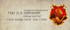 I thought The Doctor said that but hey...it's a good quote either way.