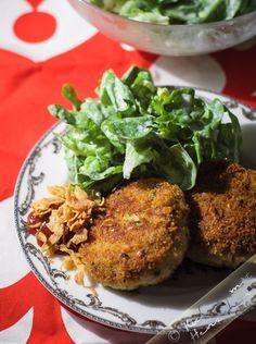 Kochen mit Herzchen - ♥ Mein Koch-Tagebuch mit viel Herz ♥: Fischfrikadellen