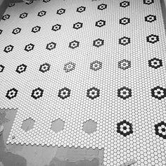 "MACASAR Building on Instagram: ""Picking out black flowers for our flinders project @tiento_tiles @brownlowinteriordesign #builtbymacasar #flinders"" Tile Projects, Black Flowers, Laundry In Bathroom, Tiles, Building, Instagram Posts, Art, Room Tiles, Art Background"