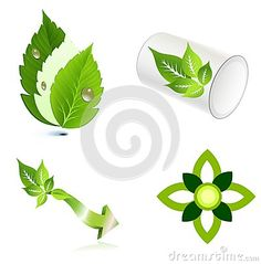 Leaves Ecology Logo Icon Design Stock Vector - Illustration of garden, care: 100458149 Green Leaves, Plant Leaves, Water Drop Logo, Flower Logo, Water Drops, Abstract Flowers, Ecology, Icon Design, Wellness