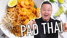 The most-famous Thai dish in America! 👏 Skip the takeout next time and make Pad Thai at home with some help from Jet tila! Check back for a new episode of Thai Recipes, Asian Recipes, New Recipes, Cooking Recipes, Favorite Recipes, Chinese Recipes, Yummy Recipes, Junk Food, Recipes