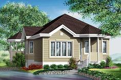Country House Plan: 957 sq ft