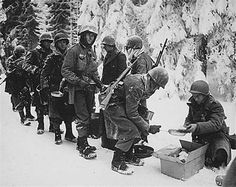 American forces in the Ardennes Forest - WWII