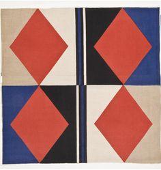 "Sonia Delaunay, ""Tissu simultané no 168, morceau de tissu | Les Arts décoratifs"