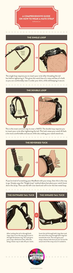 072cb61be72 A detailed guide to wearing NATO straps (Repost from r watches)