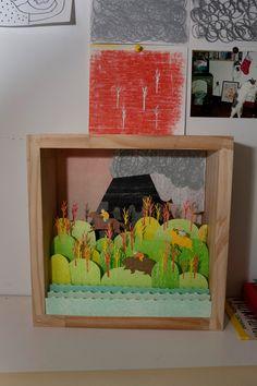 jing wei's diorama @maya lalonde ça me fait penser à toi :-)