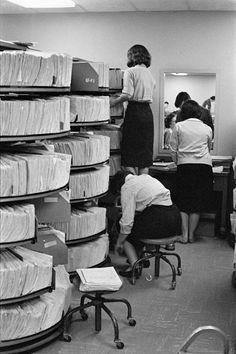 Henri Cartier-Bresson  Photo-Essay Bankers Trust Company, New York. 1960