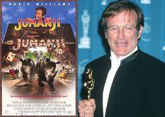 Jumanji Actor Robin Williams has *passed* away Jumanji Actors, Robin Williams Movies, Academy Award Winners, Top Movies, Passed Away, Entertainment, Film, Music, Happy