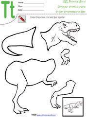 Dinosaur bones templates. T-Rex, Triceratops, Brontosaurus