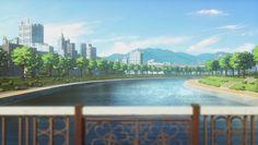 Anime modern  scenery