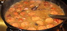 Imma toll you a story 'bout this here gumbo. It was made outta de mos' tender dinosaur you ever did see. Wild Duck Recipes, Rib Recipes, Gumbo, Learn To Cook, Soups And Stews, Easy Meals, Stuffed Peppers, Dishes, Cooking