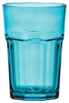 Dieses Trinkglas aus dem Hause NOVEL besticht durch hohe Qualität und geschmackvolles Design. Das Glas besteht aus transparentem Glas und überzeugt durch eine trendige Form. Dabei präsentiert sich das Trinkglas in charmantem Blau und besitzt ein Fassungsvermögen von ca. 360 ml. Aus diesem hochwertigen Glas trinken Sie gerne!