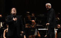 Gregory Kunde e Antonello Allemandi (foto Roberto Ricci)