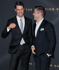 Matthew Goode & Allen Leech :)