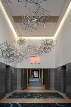 sculptural ceiling fixtures