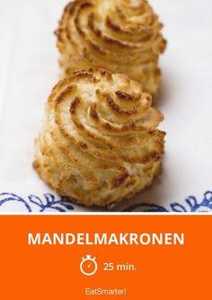Mandelmakronen - smarter - Zeit: 25 Min. | eatsmarter.de