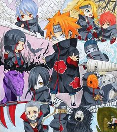 The Akatsuki!!! XD