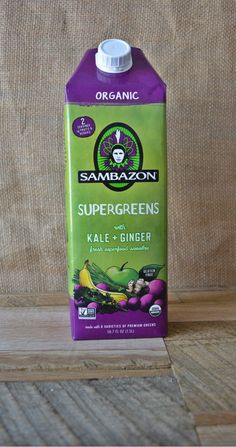 Sambazon Supergreens with Kale + Ginger is now available in a 1.5 L multi-serve pack at Costco locations!