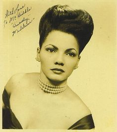 1930s Black Chorus Girl Madeleine Jackson